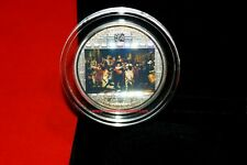 Cook Islands 2009 - Masterpieces of Art - Silver 20$ - Rembrandt Nightwatch