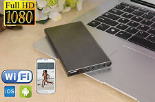 1080P HD WiFi Spy Hidden 5000MA Power Bank Camera IR Night Vision IP P2P Cam DVR