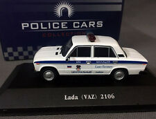 New - Atlas DieCast Model 1/43 - Lada (VAZ) 2016 Police Cars Collection