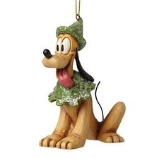 Disney Sugar Coated Pluto Hanging Figurine Christmas Decoration A28241