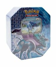 Pokémon heartgold SoulSilver 'Shiny' Tin-Box-Suicune