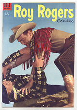 Roy Rogers Comics #82 FNVF Photo Cover