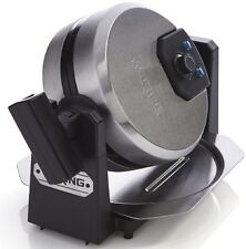 Waring Pro Breakfast WMK200 Belgian Waffle Maker Brushed Stainless Steel & Black