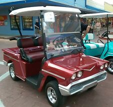 58 Chevy Impala Custom Golf Cart  Body Kits-CLUB CAR DS- PRECEDENT - EZGO-YAMAHA
