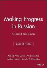 Making Progress in Russian : A Second Year Course by Sloane, Donald V....