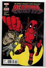 DEADPOOL #11 - MIKE ALLRED COVER - MATTEO LOLLI ART - MARVEL COMICS - 2016