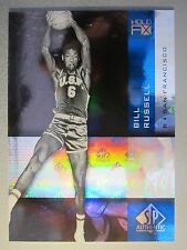 *Rare* 2010-11 SP Authentic Holo F/X #14 Bill Russell