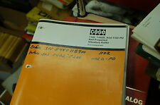 CASE 1102 D PD Roller Vibratory Compactor Spare Parts Manual book catalog 1983