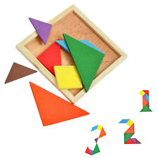 New Baby Colorful Tangram Intellectual Development Toys Educational Plaything