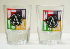 OFFICIAL ALL STAR CAFE NEW YORK SHOT GLASSES - Pair - Collectibles