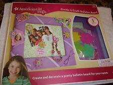 New American Girl Doll Create & Craft Bulletin Board! 175 PIECES!