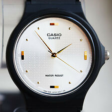 Casio White Classic Analogue Watch MQ-76-7A1 NEW