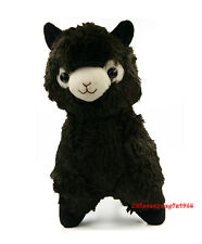 14'' Alpacasso Arpakasso Amuse Solid Black Llama Alpaca Stuffed Plush Doll
