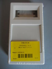 Hand Held Enclosure, ABS, White, 180 x 100 x 44mm - NEW - 1197694