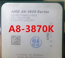 Free Shipping AMD A8-Series A8-3870K 3.0G AD3870WNZ43GX/Socket FM1