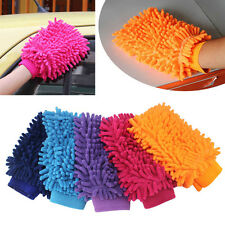 Chenille Mitt Super Microfiber Coral Car Washing Cleaning Glove New Laptop Home