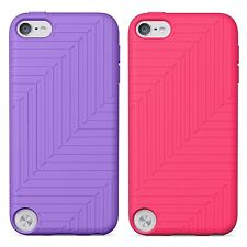 Belkin Super Flex Slim Case for iPod Touch 5G  Pink / Purple Pack of 2 NEW
