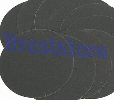 "10PC 9"" INCH 80 GRIT ROUND PSA STICK ON ABRASIVE SANDING SANDPAPER DISK DISC"