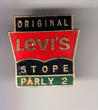 RARE PINS PIN'S .. MODE FASHION JEANS LEVI STRAUSS LEVIS LEVI'S STORE PARLY 2~CF