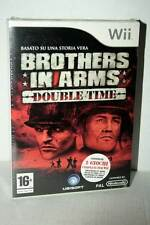 BROTHERS IN ARMS DOUBLE TIME GIOCO NUOVO NINTENDO Wii EDIZIONE ITA PAL RS2 40944