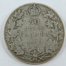 A-13 CANADA 1919 50 CENTS KING GEORGE V. SEE PICTURES