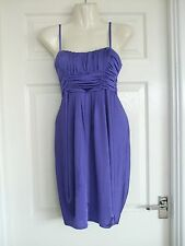 Purple Dress Cocktail Evening Size 10 Summer Sexy Party Womens Winter Ladies