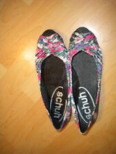 FLORAL SHOES SIZE 7 FLATS BY SCHUH