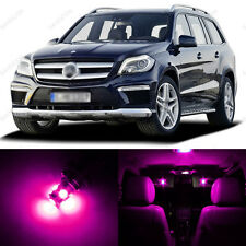 17 x Pink/Purple LED Interior Light Package For 2006-2011 Mercedes ML Class W164