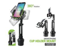 Heavy Duty Long Extended Car Cup Mount Stand Crane for Samsung Galaxy Note 5 4 3