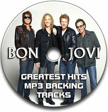 BON JOVI STYLE MP3 ROCK GUITAR BACKING TRACKS COLLECTION JAM TRACKS