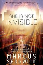 She Is Not Invisible by Marcus Sedgwick (2015, Paperback)