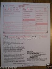 2016 IRS Tax Form W-3 Transmittal of Wage & Tax Statements (for W-2s to SSA)