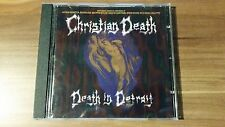 Christian DEATH-death in Detroit (CLP 9588-2 1995 USA)