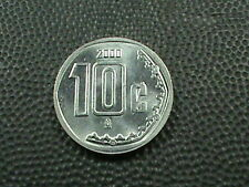 MEXICO    10  centavos    2000    BRILLIANT  UNCIRCULATED   ,   EAGLE  &  SNAKE
