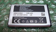 Original Samsung Rugby II sgh a847 Cell Phone Battery AB663450BA AB663450BZ