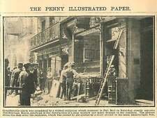 1908 Violent Explosion Pall Mall Opposite Marlborough House