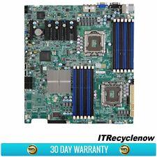 Supermicro X8DTE-F EATX Motherboard Dual LGA1366 DDR3 IPMI Intel ICH10R RAID I/O