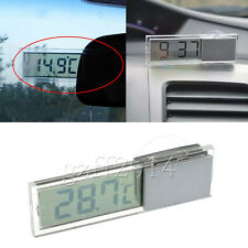 one Digital Display Indoor Home Room LCD Meter Thermometer Suction Cup