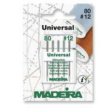 Sewing Machine Needle - Madeira Universal Sharp 80/12 - Pack 5