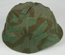 WWII GERMAN M35 REVERSIBLE MILITARY TACTICAL HELMET COVER COLOR SPLINTER CAMO