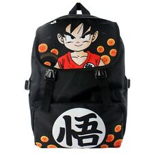 Anime Dragon Ball Z Son Goku Super Saiyan Backpack School Shoulder Bag Cosplay