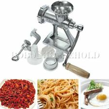 Meat Grinder Mincer Machine Maker Sausage Filler Mincers Attachment Hand Tool