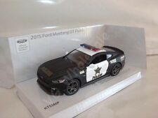 "2015 Ford Mustang GT Police Car Die Cast Metal Model 5"" Kinsmart Collectable New"