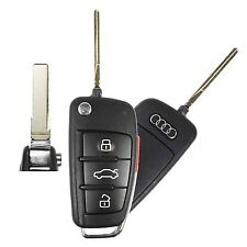 Excellent Used Remote Flip Key Audi Switchblade Keyless Fob Transmitter