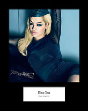 RITA ORA #1 Signed Photo Print 10x8 Mounted Photo Print - FREE DELIVERY