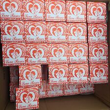 "4 Box of 36 Total 144 Tiny Silk Tube Love Roses 4"" Glass Tubes Gift Little Rose"