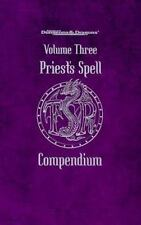 Priest Spell Compendium Vol. 3 by Jon Pickens (1999, Paperback)
