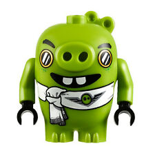 LEGO ANGRY BIRDS The Movie MINIFIGURE PILOT PIGGY Pig Lime Green  NEW 75822