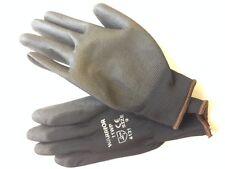 100 paires noir nitrile enduits gants ** General but ** mécanique ** taille 9
