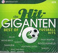 Die Hit Giganten  -  Best of Fußballhits  -  3CDs  -  NEU & OVP